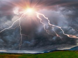 2_Thunderstorm-at-sunset